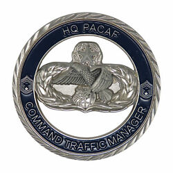 Us Hr Pcaf Command Traffic Manager Challenge Coin