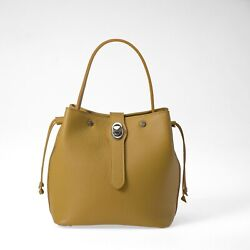 CORNIZZOLO BUCKET Leather Handbag for Woman Made in Italy Calf Leather $85.00
