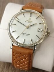 Omega Seamaster De Ville 14k Automatic Mens Vintage Watch Serviced And Warranty