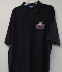 Nhl Hockey Florida Panthers Old Logo Mens Embroidered Polo Xs-6xl Lt-4xlt New