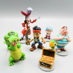 Jake And The Neverland Pirates Figures Lot of 6 Mattel Disney Toys $16.75