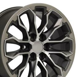 17 Gunmetal Machined Wheel Fits Chevrolet Colorado Zr2 And Gmc Canyon 5891