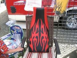 Fits Honda Atc 250r Seat Cover 1985 To 1986 Tribal Red And Black Color 84t7fyhw83