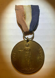 Bsa Very Early And Rare Boy Scout Medal 1912-1914