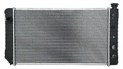 Radiator V6 4.3l A/t With Eoc 705 Fits 1988 1994 Chevrolet S-10