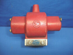 60and039s Mallory Double Life Distributor Double Primary Rev-pol Transformer Coil C31