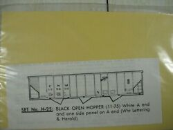 The Herald King Ho Cnw Open Hopper Decals H-25