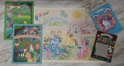 Vintage My Little Pony G1 Folders Poster Lazer Blazers And Loot Bags