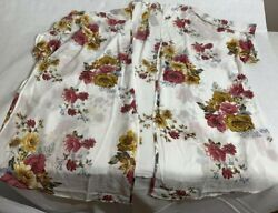 Mauricesnew With Tagswhite Lace Duster Kimonoplus Size 2x/3x