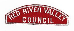 Boy Scout Red River Valley / Council Rws Wide Letters- E = 6mm Rated10
