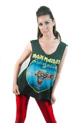 Vintage Iron Maiden Shirt 1988 Can I Play With Madness Concert Shirt Band Tee
