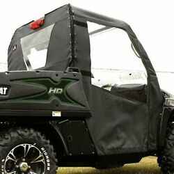 Soft Doors And Rear Window For 2012-2014 Arctic Cat Prowler With Round Bars