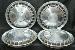 1969 Oldsmobile Cutlass F-85 Hubcap 14 Inch Turbine Style Wheel Cover H 4015