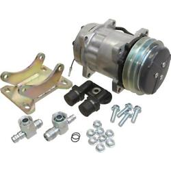Amx10200 X10200 - York To Sanden A/c Compressor Conversion Kit For White Tractor