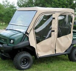 Full Cab With Folding Windshield For Kawasaki Mule 3010 Trans 4010 Trans