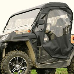 Full Cab Enclosure With Aero-vent Windshield For Cf Moto Uforce 500 800