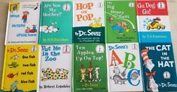 10 Childrens Early Beginner Books New Cat In Hat Go Dog Go Abc Hop Pop