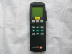 1pc Used Testo 650 Multifunctional Temperature And Humidity Meter