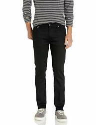 Nudie Jeans Menand039s Thin Finn Jean In Dry Cold Black - Choose Sz/color
