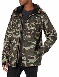 Volcom Menand039s Creedle2stone Military Style Snow Jac - Choose Sz/color