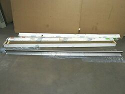 Lot Of 2 Thomson 60 Case Steel Linear Shaft Support Rail Sa32 Ctl98.000 2 X 98