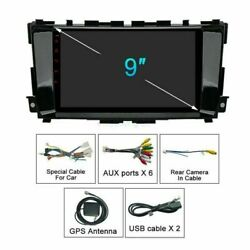 9 Android Car Radio Stereo Gps Dvd Player Wifi For Nissan Teana Altima 13-18