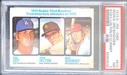1973 O-pee-chee Mike Schmidt 615 Rookie Card Rc Psa 7
