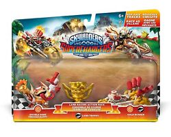 Nib Skylanders Superchargers Land Racing Action Pack Double Dare Trigger Happy