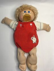 Vintage Original 1983 Baby Cabbage Patch Doll With Pacifier Sign Xavier Roberts