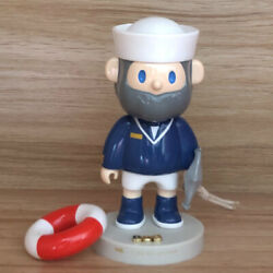 What The Farmer Bob Navy Mini Figure Designer Art Toy Collectible New Limited