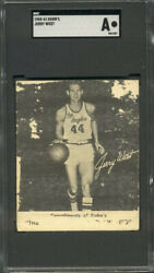Jerry West 1960 Kahn's Rookie Card 🔥investment Card Hof Lakers🔥sgc Authentic