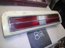 1973 1974 Gto Grand Am Can Am Taillight Pontiac Lemans Sport Tail Light Right Oe