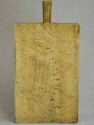 Antique Rectangular French Cutting Board - Blond Wood 19 X 9¾