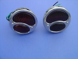 1928-1929-1930-1931 Ford Model A Taillights-pair-12 Volt