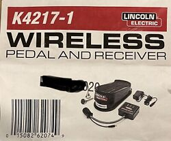 Lincoln Electric K4217-1 Wireless Pedal For Tig Welding.