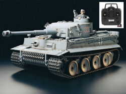 Tamiya German Tiger I Early Production 1/16 Full Op. Assembled And Painted Rtr