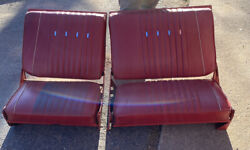 1963 Ford Galaxie Country Squire Station Wagon Second Row Seats