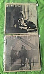 Carole King Tapestry And Music Compact Jukebox Ep 33 Rpm Mini Lpand039s + Title Strips
