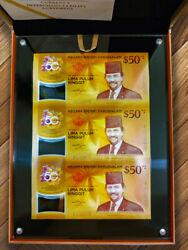 Brunei Cia - 3in1 Limited Edition, Gift Box Set Issue Date 2017