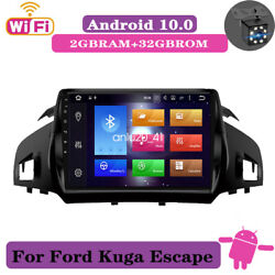 For Ford Escape 2013-2017 9and039and039 Android 10 Car Stereo Radio Gps Navigation 2+32gb