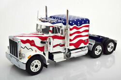 118 Road Kings Peterbilt 359 Stars And Stripes 1967 White/red/blue