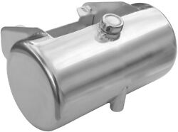 Ultima 3.5 Raw Metal Center Fill Round Oil Tank For 84-99 Softail Or Rigids