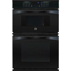 Kenmore Elite 30 Microwave Wall Oven Combination 49119 - Black
