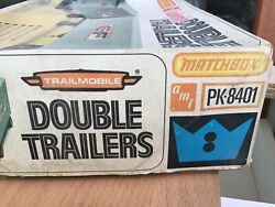 1/25. Matchbox Amt. Double Trailers Kit Complete Rare