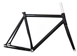 Leader Renovatio 2014 Frame Set 58 Cm Matte Black With Non-tapered Head - New