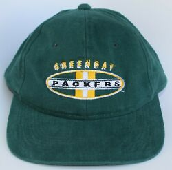 Green Bay Packers Nfl Baseball Cap Hat One Size Strapback By Sports Specialties