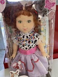 Fabulous Fancy Nancy Doll 18 Inches And Accessories Rare Unopened Box