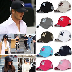 Classic New York Yankees Mens Womens Baseball Cap NY Insignia Cotton Visor Hat