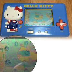 Hello Kitty Lcd Game Hello Submarine Tomy Game Watch Limited Japan Working