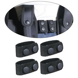 4x Duty Belt Holder Heavy Duty 2 And039and039 / 2 Andfrac14 And039and039 Webbing Holder Equipment